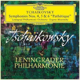 TCHAIKOVSKY-MRAVINSKY - SYMFONIE 4-6 LP