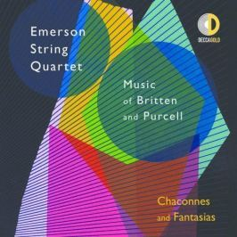 CD BRITTEN / PURCELL - EMERSON STRING Q / CHACONNES AND FANTASIAS