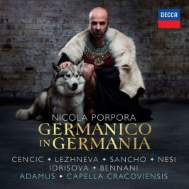 CD Nicola Porpora : Germanico in Germania (Max Emanuel Cencic)