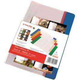 PANTA PLAST Obal na sešit + štítek, A4, PVC,