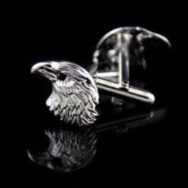 Manžetové knoflíčky orlí hlava