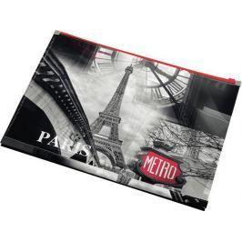 PANTA PLAST Desky na dokumenty Paris, se zipem, A4, PP,