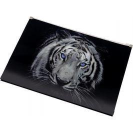 PANTA PLAST Desky na dokumenty Tiger, se zipem, A4, PP,