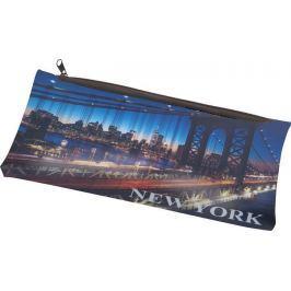 PANTA PLAST Penál New York, se zipem,