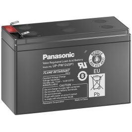 Panasonic olověná baterie UP-PW1245P1 do UPS AEG/APC/EATON/ 12V/ 9Ah/ životnost