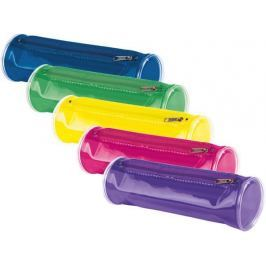 PANTA PLAST Penál, se zipem, mix barev,