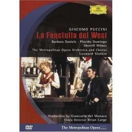 DVD Puccini - Slatkin : La Fanciulla del West