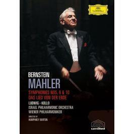 Mahler Gustav : Symfonie Nr. 9, Nr. 10 und Das Lied von der Erde (Bernstein)