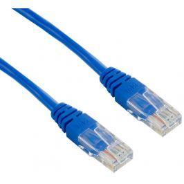 4WORLD Síťový kabel RJ45 s krytkou, Cat. 5e UTP, 15m, Modrý