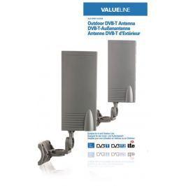 Valueline VLS-DVBT-OUT20 - DVB-T/T2 venkovní anténa 15 dB VHF / UHF