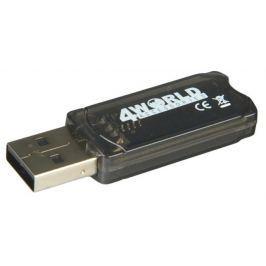 4World USB Bluetooth Adaptér - v.2.0, Class 2