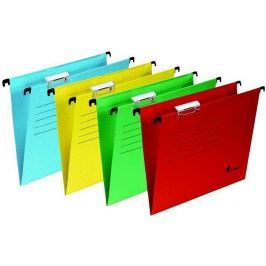 VICTORIA Závěsné zakládací desky, A4, žluté,