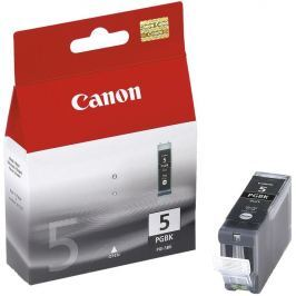 Canon cartridge PGI-5Bk Black BLISTR s ochranou (PGI5BK)