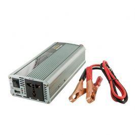 WHITENERGY Napěťový měnič AC/DC z 12V na 230V 800 W, USB