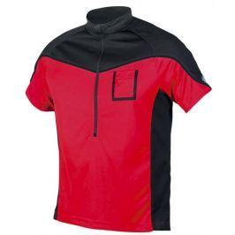 Etape Pánský volný dres  Polo, L, Červená/černá