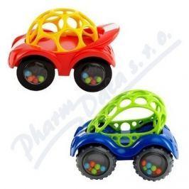 BRIGHT STARTS Hračka OBALL Rattle&Roll autíčko 3m+
