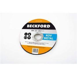 BECKFORD Kotouč řezný na kov 230 x 2,5 x 22 mm