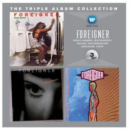 CD Foreigner : Triple Album Collection