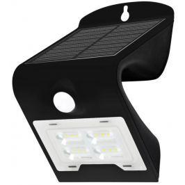 IMMAX venkovní solární LED osvětlení s čidlem/ 2W/ 4000-4500K/ IP65/ černé