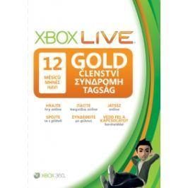 Microsoft XBOX LIVE Gold Card - zlaté členství 12 měsíců