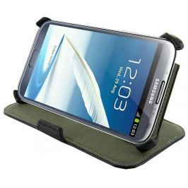 4World Ochranné pouzdro pro Galaxy Note 2, Stand, 5.5'', černý