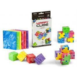 HAPPY CUBE Hlavolam  - Marble Cube 6 kostek
