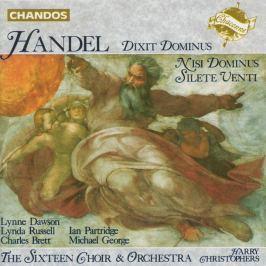 CD HANDEL - CHRISTOPHERS / DIXIT DOMINUS,NISI