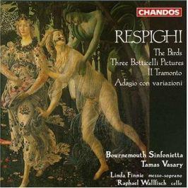 CD RESPIGHI : VASARY - BIRDS,IL TRAMONTO,ADAGIO