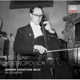 CD Bach - Rostropovich-cello Suites 1-6