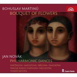 CD Martinů: Kytice - Novák: Filharmonické tance (Tomáš Netopil)