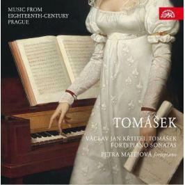 CD V.J.K.Tomášek : Klavírní sonáty (Hudba Prahy 18. století)