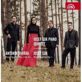 CD Dvořák / Suk: Josef Suk Piano Quartet - Klavírní kvartety