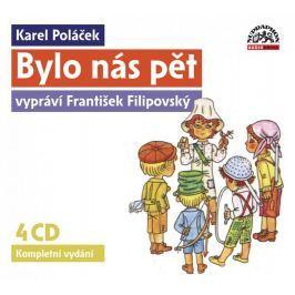 CD Bylo nás pět /komplet/  (Karel Poláček)