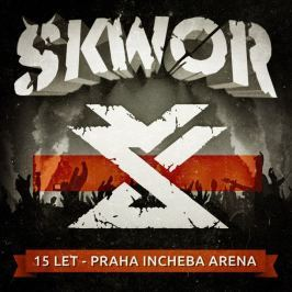 DVD Škwor : 15 let (Incheba Aréna)  CD+