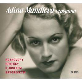 Supraphon CD Adina Mandlová vzpomíná