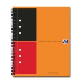 OXFORD Sešit International Notebook, kroužková vazba, A5+, linkovaný, 80 listů, OXFOR