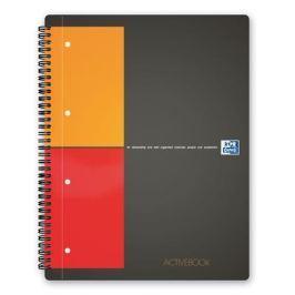 OXFORD Sešit International Activebook, kroužková vazba, A4+, čtverečkovaný, 80 listů,