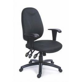 MAYAH Manažerská židle, textilní, černá základna, , Energetic, černá