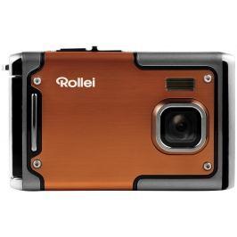 """Rollei Sportsline 85/ 8 MPix/ 2,4"""" LCD/ Voděodolný do 3m/ FULL HD/ Oranžový"""