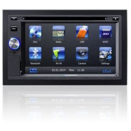Blaupunkt Autorádio  SanDiego 530 World, DVD/MP3/WMA/Radio, USB, 2DIN