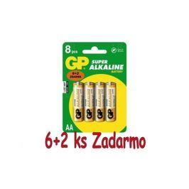 GP Batteries Baterie GP B13218 LR6 6+2BL
