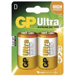 GP Batteries GP Alkalická baterie Ultra LR20 (D), 2 ks v blistru