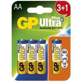 GP Batteries GP AA Ultra Plus, alkalická - 3+1 ks