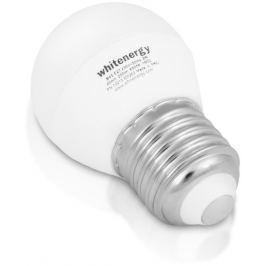 Whitenergy LED žárovka | 7xSMD2835| B45 | E27 | 3W | 230V |studená bílá| mléko