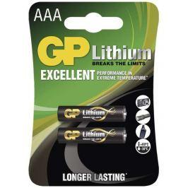 GP Batteries GP AAA Lithium lithiová - 2 ks