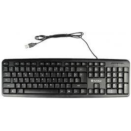 4World Počítačová klávesnice na USB, barva černá, US , QWERTY česká republika