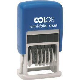 COLOP Razítko číslovací,  S126