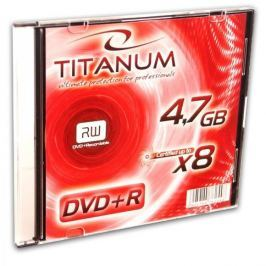 Esperanza Titanum DVD+R [ slim jewel case 1 | 4.7GB | 8x ] - karton 200 ks