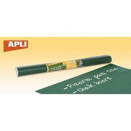 APLI Samolepící tabule, zelená, pro popis křídou,