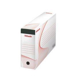 ESSELTE Archivační krabice na závěsné desky Standard, bílá, 117 mm, A4, recyklovaný ka